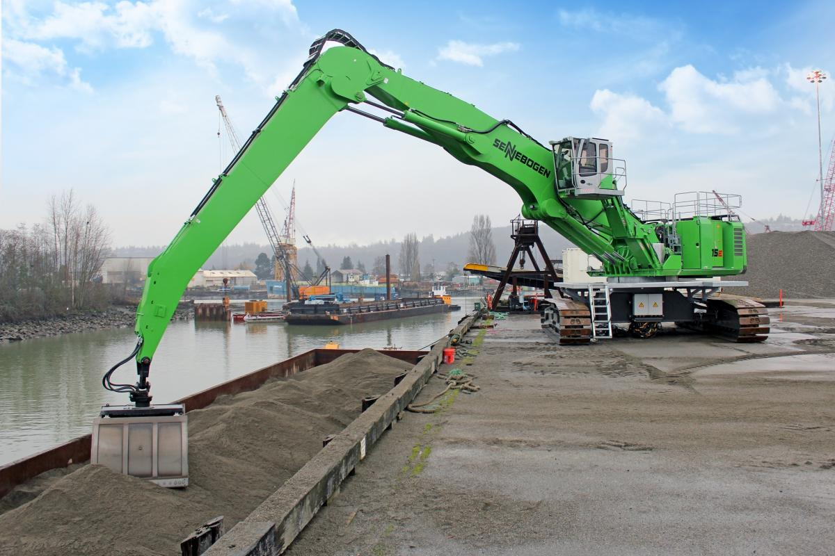 Waste Management Turns To SENNEBOGEN For New Dock Application