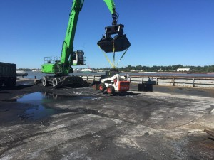 When it comes to unloading barges at a busy facility, the strength and safety offered by SENNEBOGEN material handlers is essential, says Paul Lawson, Watco Terminal Manager.