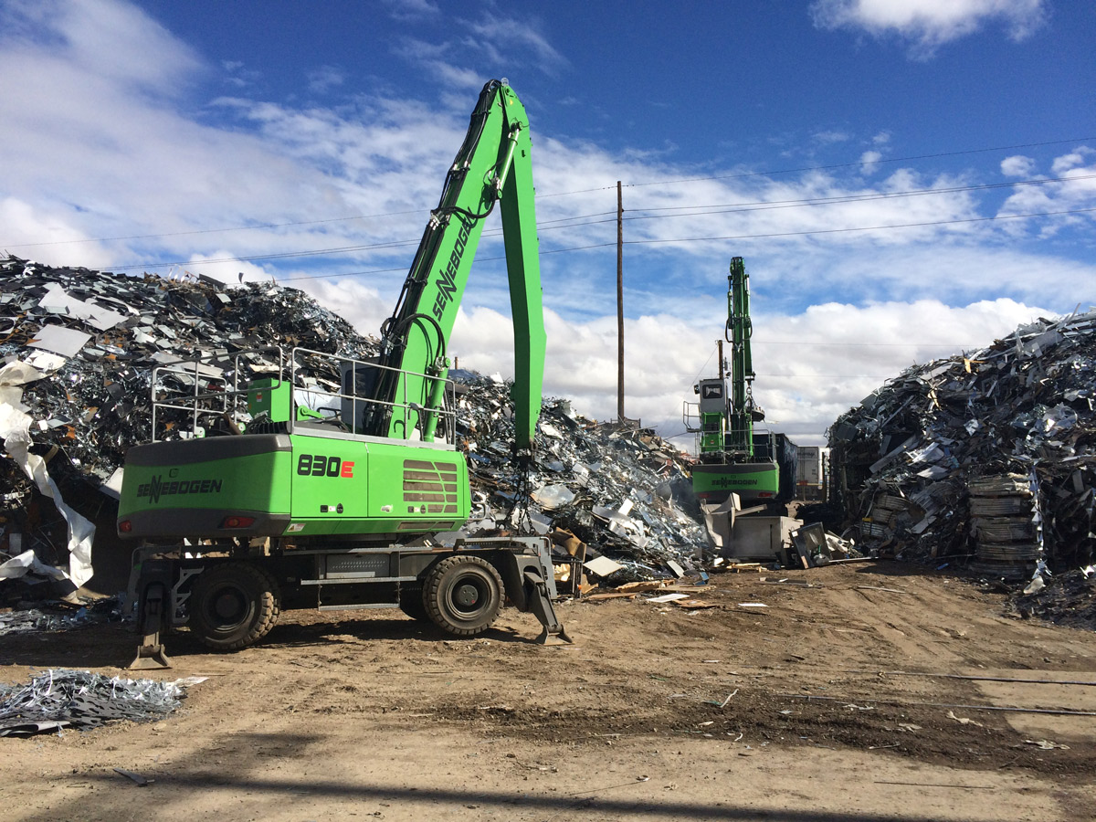 Arnold Machinery Brings Silver Service® To SENNEBOGEN Green Machines in Arizona and Nevada