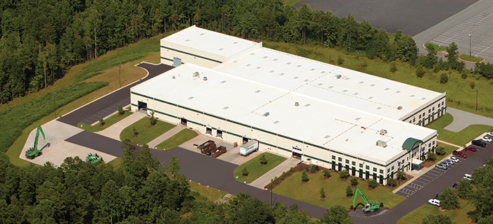 SENNEBOGEN North America Facility