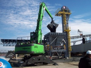 With the conveyors working, they can unload a barge in under 5 hours - 25% faster than anticipated.