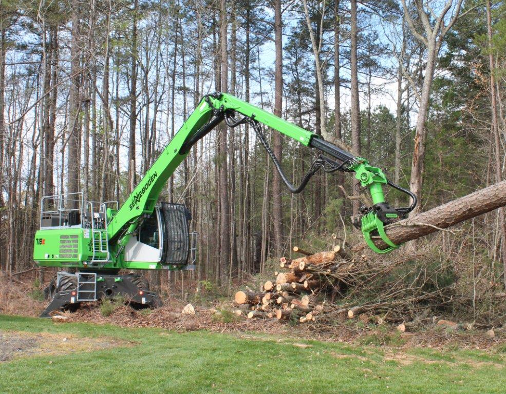 SENNEBOGEN Demo Days Highlight Changing Times In Tree Care Safety
