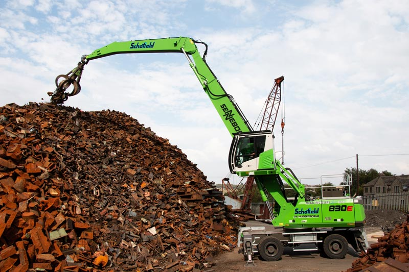 Schofield Metal Recyclers Combines Technology With Tradition