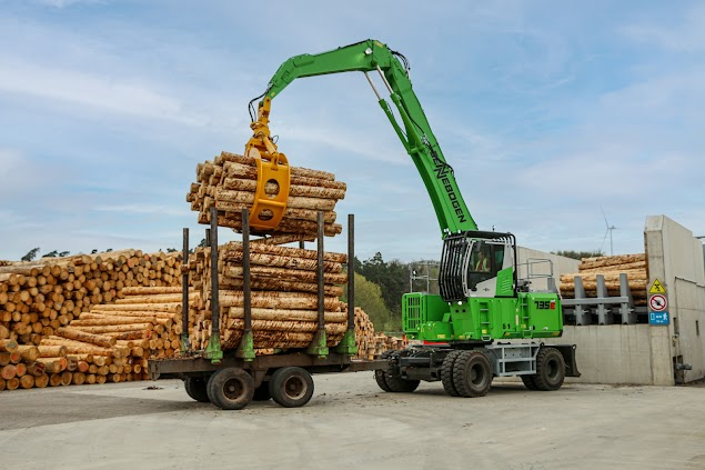 Log Handling Duties  Now Handled Exclusively By SENNEBOGEN